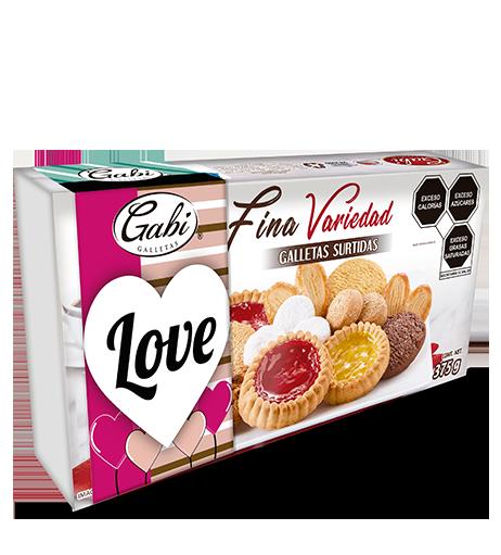 Fina Variedad San Valentin 375g